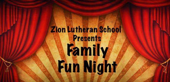 Zion Family Fun Night